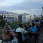 View over Syntagma Square