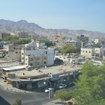 Downtown Aqaba from our room
