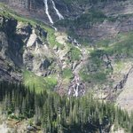Waterfall above Grinnell Lake