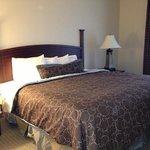 bedroom of one bedroom suite