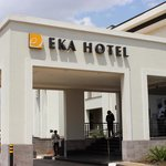 Entrance to Hotel Eka, Nairobi