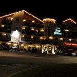 Hotel visto in notturna