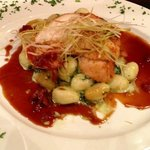 chicken breast with gnocchi..lovely