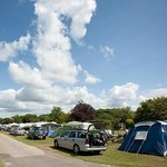 Touring and Camping at Merley Court