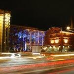 Sibelius Hall by night