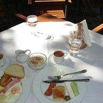 Time for breakfast at Kritsa