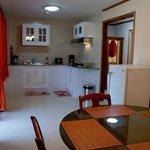 Villa Dining Room and Kitchen Facilities