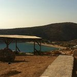 VIew of Livadi Beach  from Panaroma Room