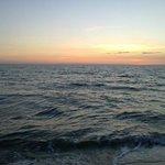 Il mare al tramonto