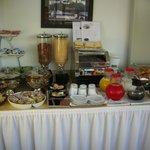 buffet petit déjeuner