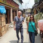 A Walk at Kumartulli