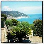 vista panoramica dalla collina di rollo a 15 min a piedi dall'hotel