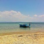 the gorgous beach
