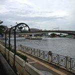 River access direct from garden terrace