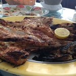King fish grilled