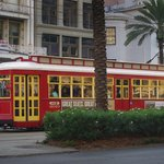 New Orleans Street Car on Canal Street