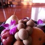 Exotic Fruit Basket on Arrival