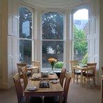 Luminosissima sala colazione