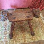 Jaguar stool in my room