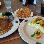 My vegeterian breakfast meal