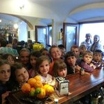 Bambini Bielorussi ospiti della Creperie l'Onda giugno 2013