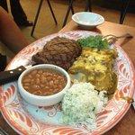 Ribeye Steak & Enchiladas
