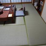 畳が綺麗でした。