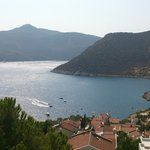 View over Kalamar Bay from our balcony