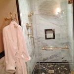 shower in room