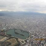 aerial view of Ohori park