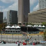 View from grand stand Grandprix of Baltimore