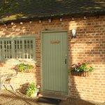 Door to Gardener's Bothy