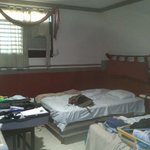 Little old room. (Sorry for our mess on the picture.. )