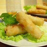 Nems, spécialité vietnamienne (faits maison!)