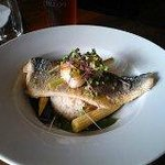 Sea Bass with Scalops