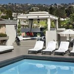 Rooftop Pool - Hollywood Hills