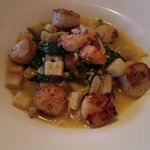 scallop pappardelle