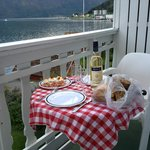 Prepare your own romantic dinner on your own balcony