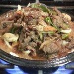 Sizzling Beef Bulgogi