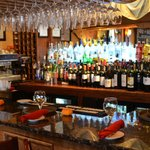 Full bar at Osteria Romana