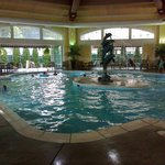 A gorgeous Pool Area (Might have been West Baden?)