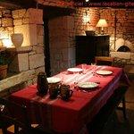 la salle à manger du gite lot quercy location gite  www.location-gite-quercy.com