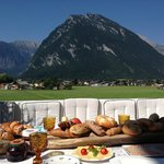 Kaiserfrühstück bei den Gastgebern