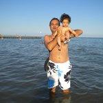 Al mare con Papà