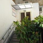 Escaliers menant à la salle à manger