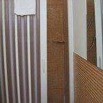 douche avec portes coulissantes