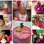 My daughter's 5th birthday at Simply Cupcakes