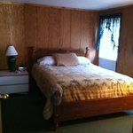 Nice Queen Size Bed with Closets and Dresser