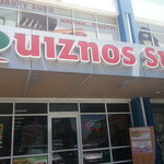 Exterior of our beautiful Quiznos store