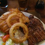 steaks, ribs & burgers to die for. The best cooked steaks on the west coast, cooked to your liki